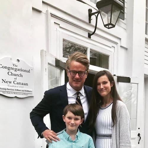 Katherine Clark Scarborough and her father Joe Scarborough