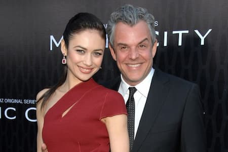 Olga Kurylenko with Ex Husband Damian Gabrielle Photo