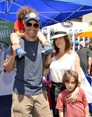 Denise Luiso, Husband Tom Morello and kids