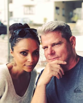 Kelly O'Connell and his wife Danielle Nicolet