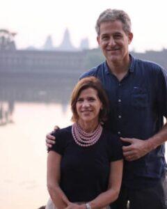 Jeanne Besser and her husband Richard Besser